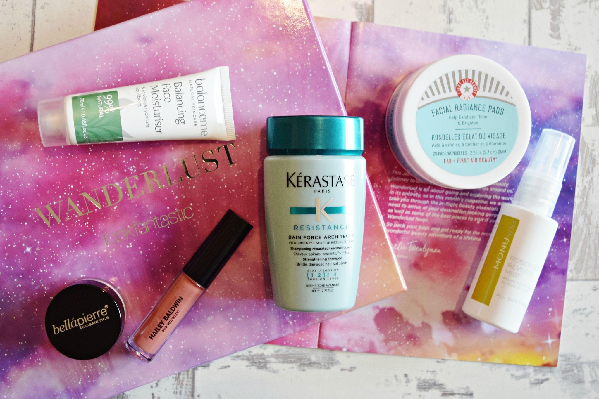 look fantastic june 2017 beauty box contents