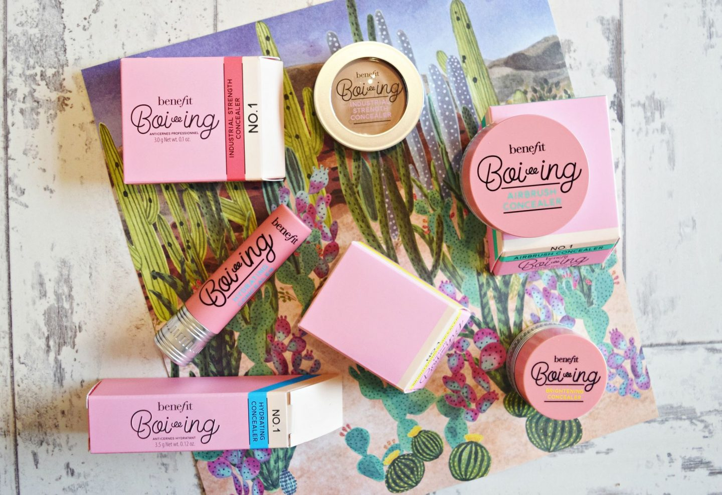 benefit cosmetics boi-ing concealers