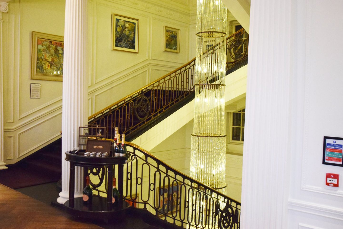 Blythswood Square Hotel Glasgow staircase