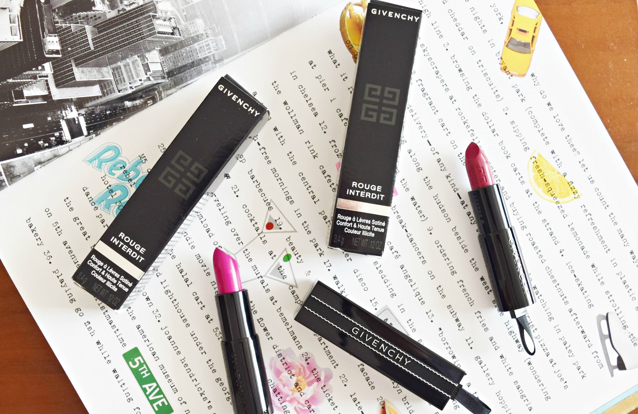 givenchy rouge interdit lipsticks