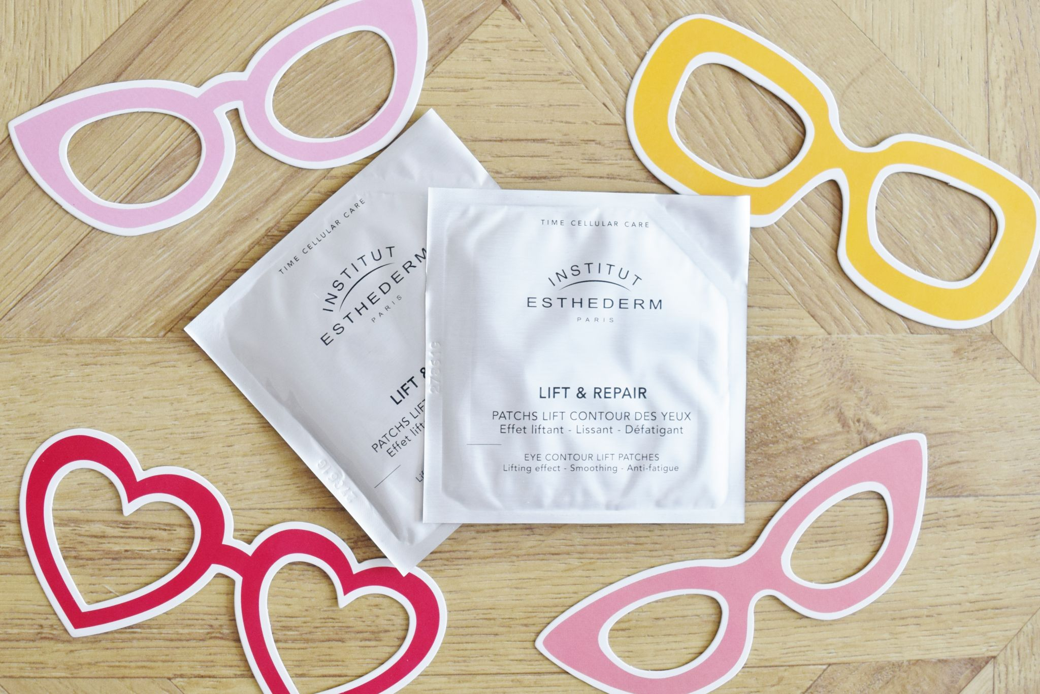 institut esthederm eye patches