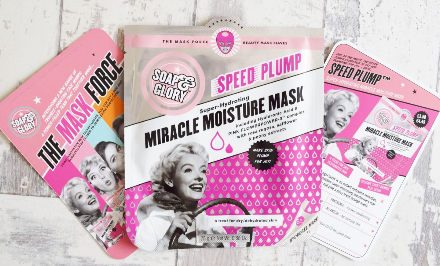 Soap & Glory Speed Plump Super-Hydrating Miracle Moisture Mask