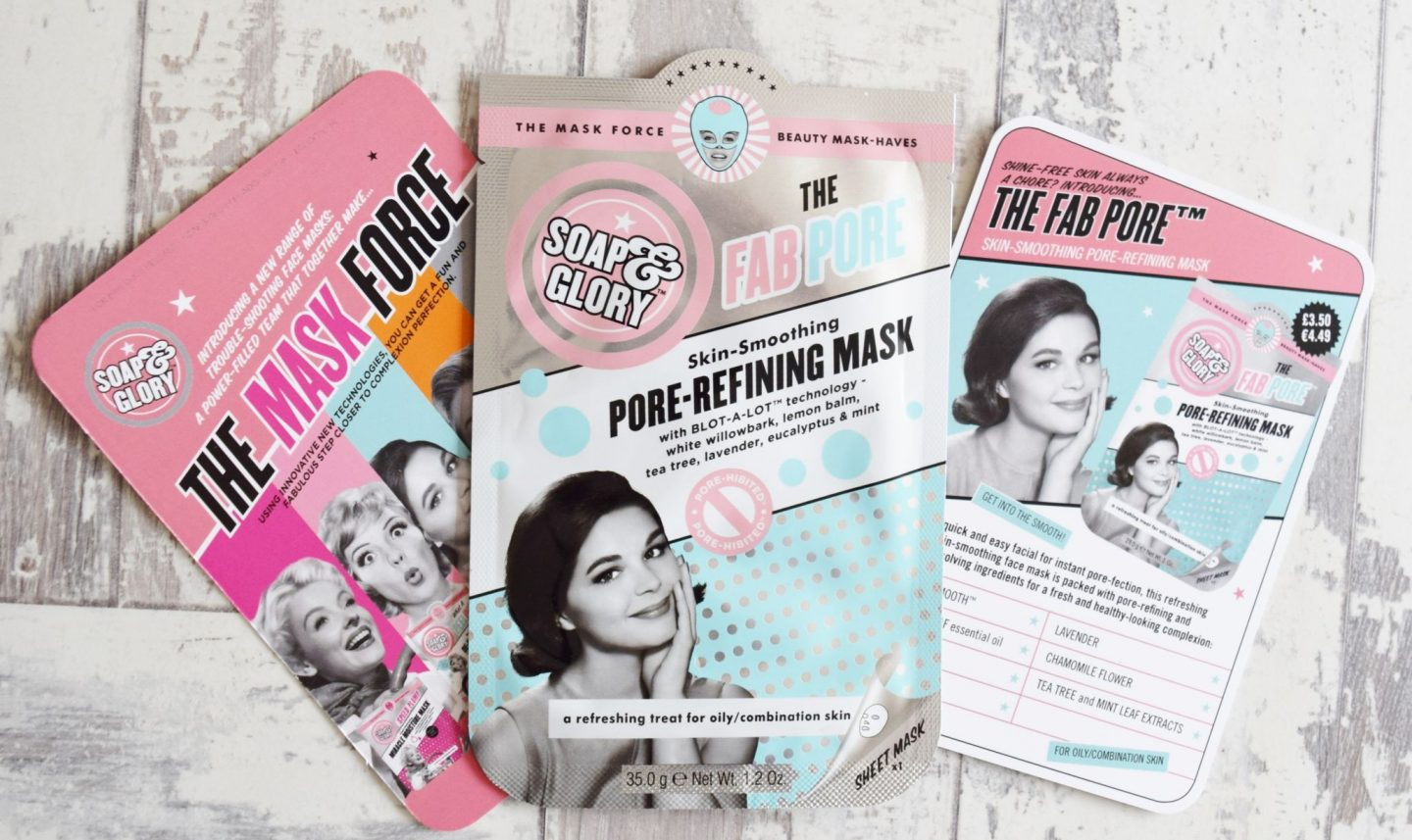 Soap & Glory The Fab Pore Skin Smoothing Pore-Refining Mask