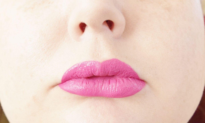 B. Makeup Matte Liquid Lipstick in Frolicked lip swatch