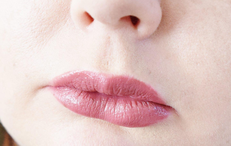 B. Luminous Lipstick in Suis Moi lip swatch