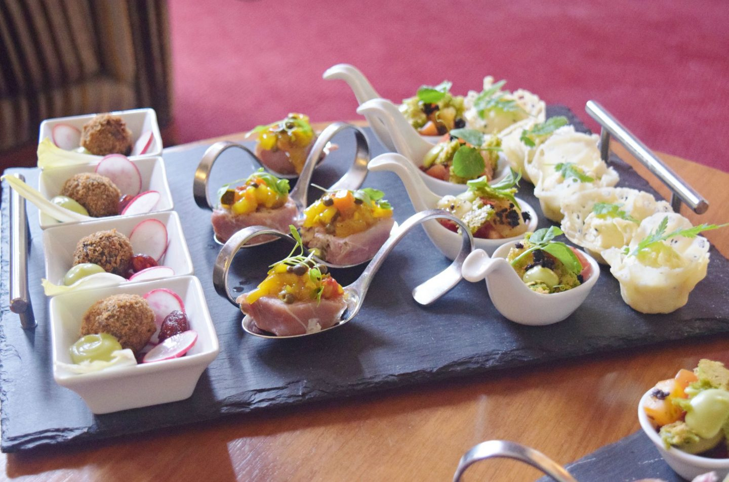 the bonham ediburgh canapes
