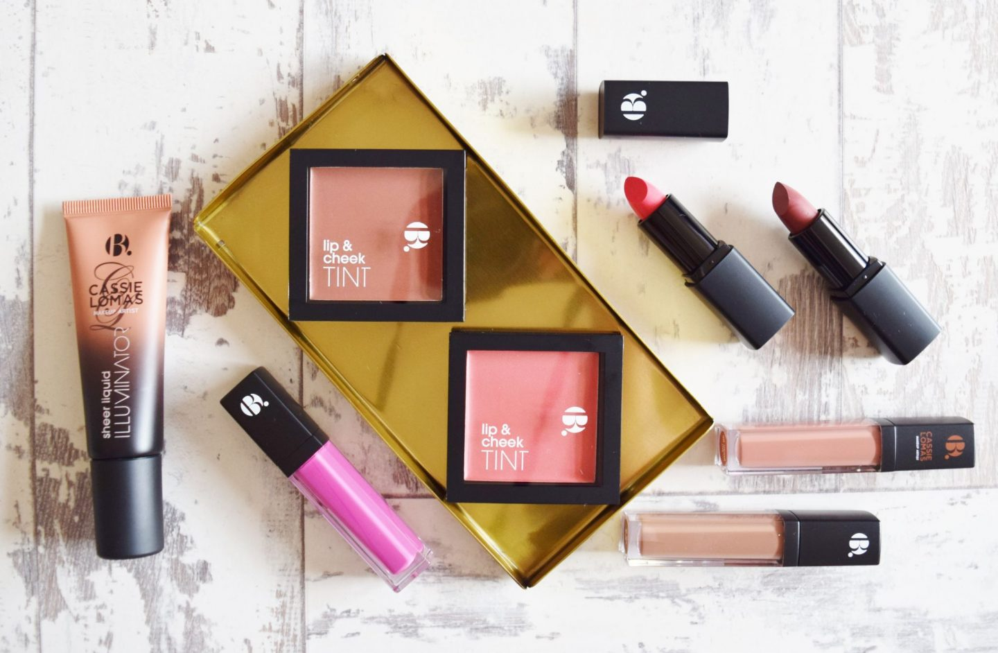 Superdrug B.Makeup products