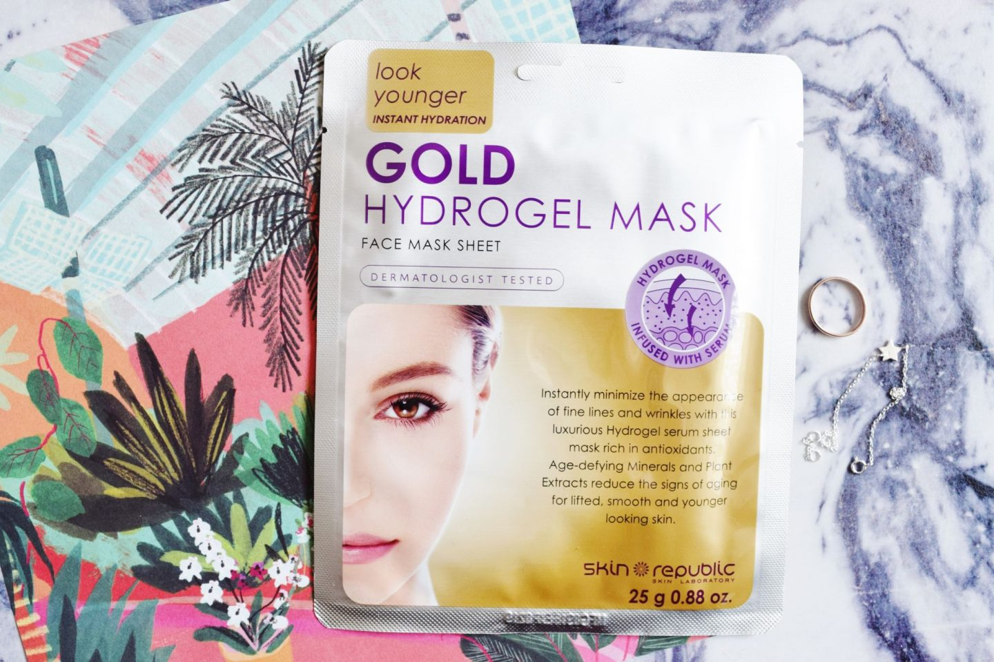 Skin Republic Gold Hydrogel Mask