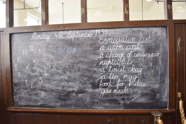 wartime classroom