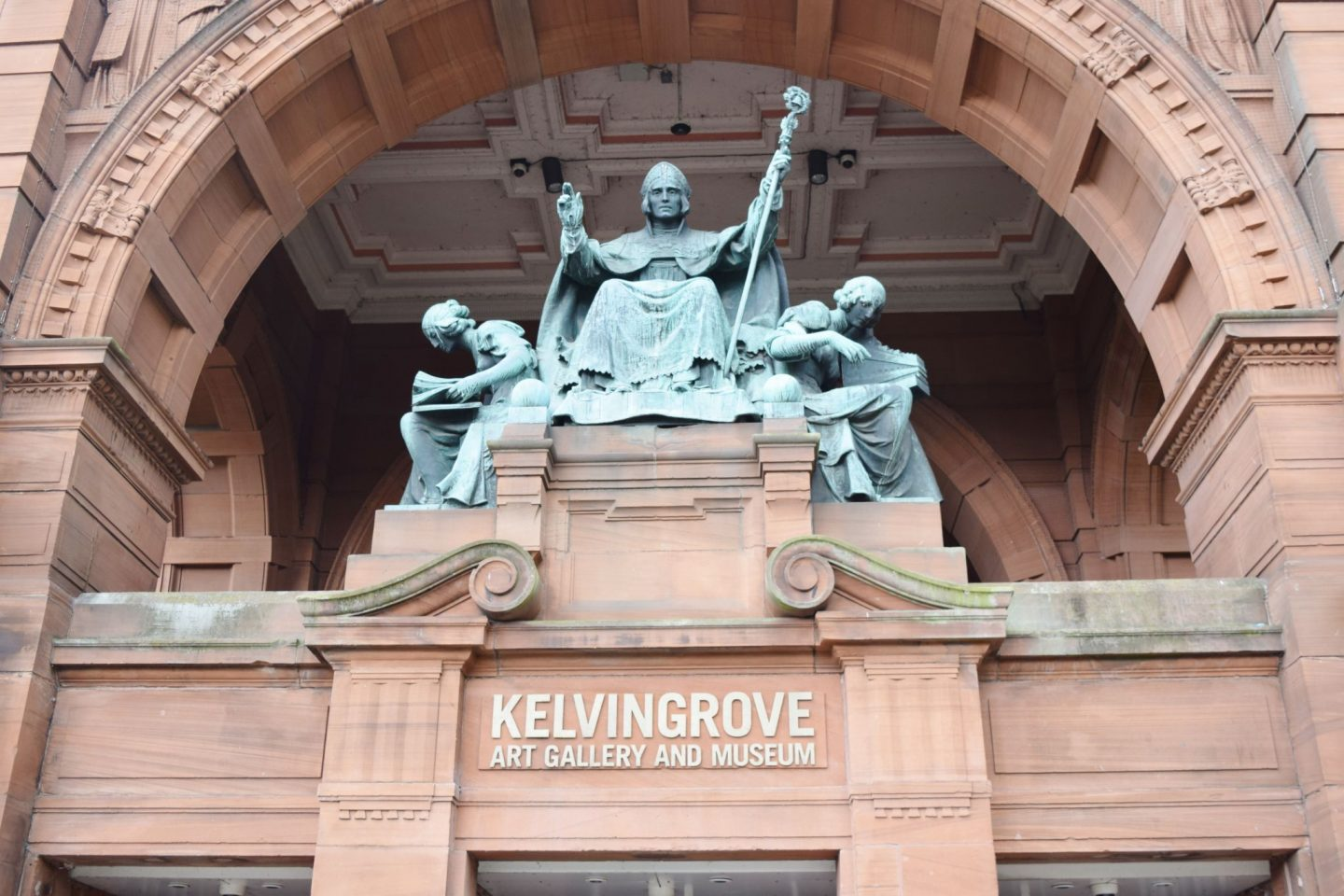 kelvingrove art gallery & museum entrance