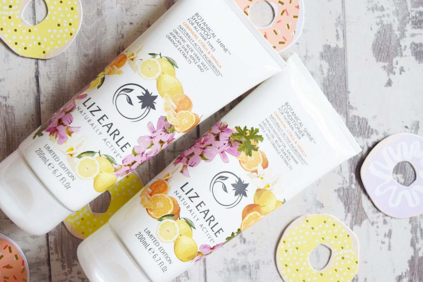 Liz Earle Botanical Shine Shampoo & Conditioner in Geranium, Citrus and Vanilla