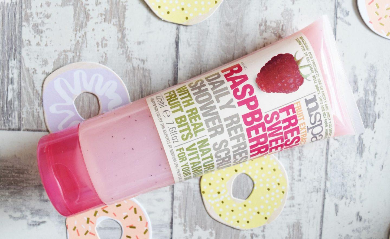 nspa Fresh Sweet Raspberry Daily Refresh Shower Scrub