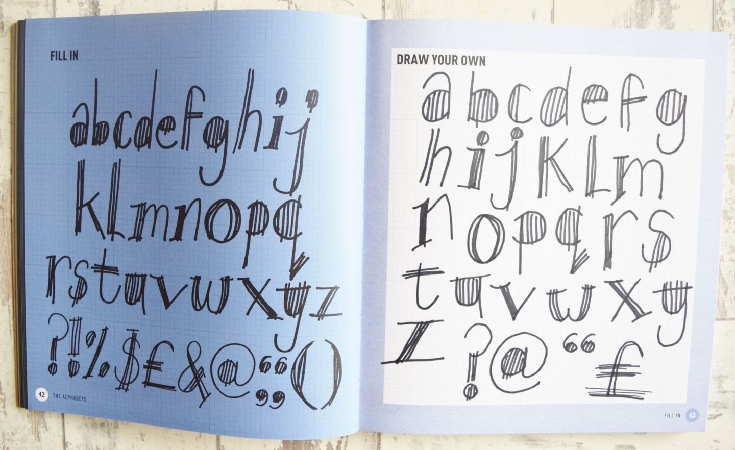 Tony Seddon's Draw Your Own Fonts