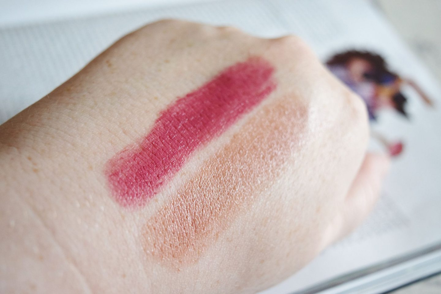 Collection SPF 15 Lip Colour swatches