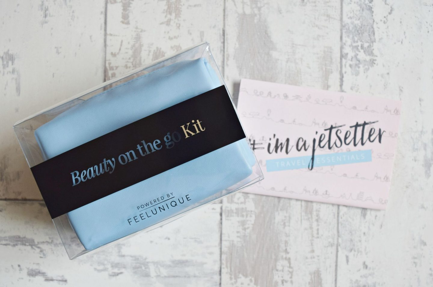 Powered by Feel Unique Beauty On-the-Go Kit Travel Essentials