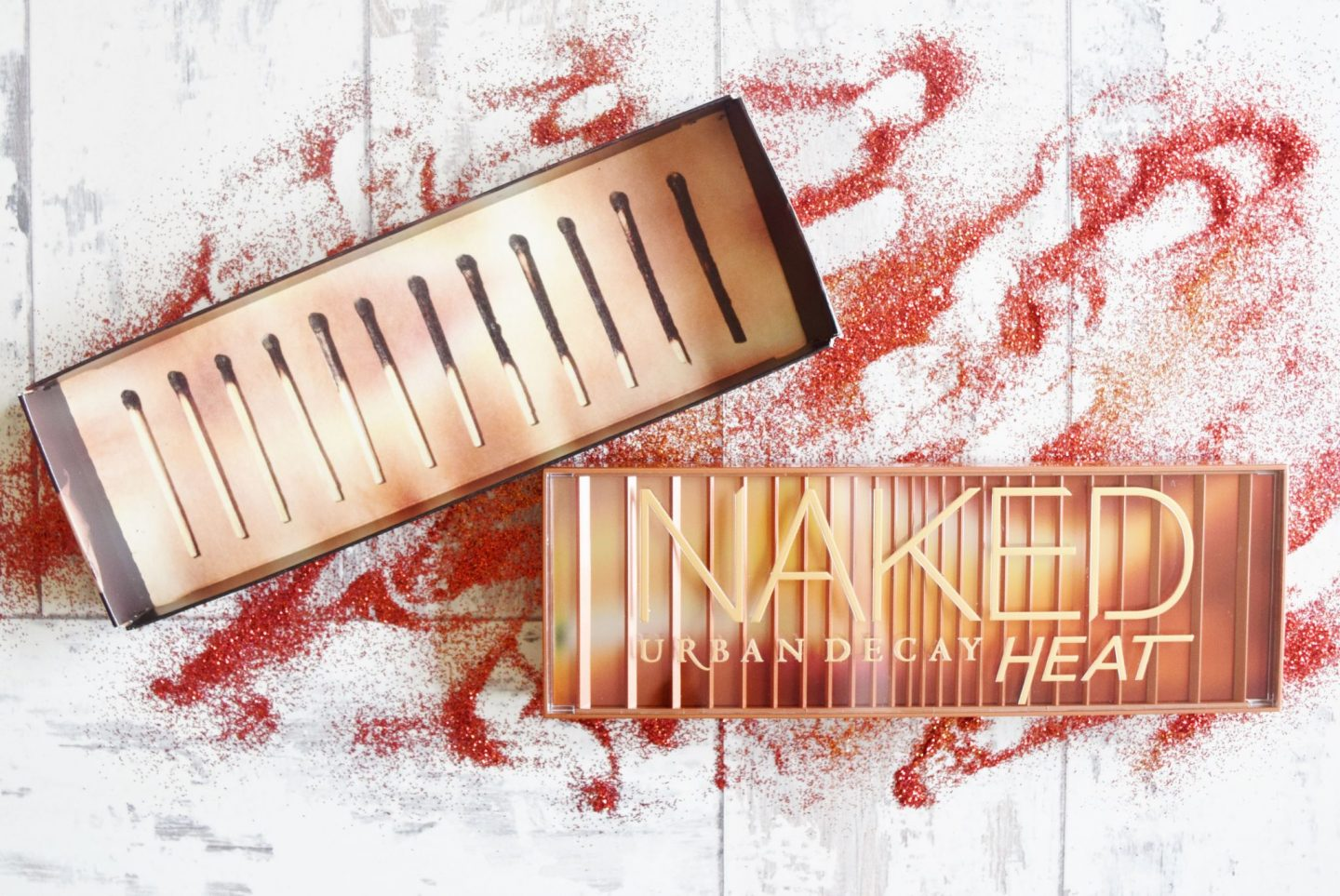 Urban Decay Naked Heat Palette packaging