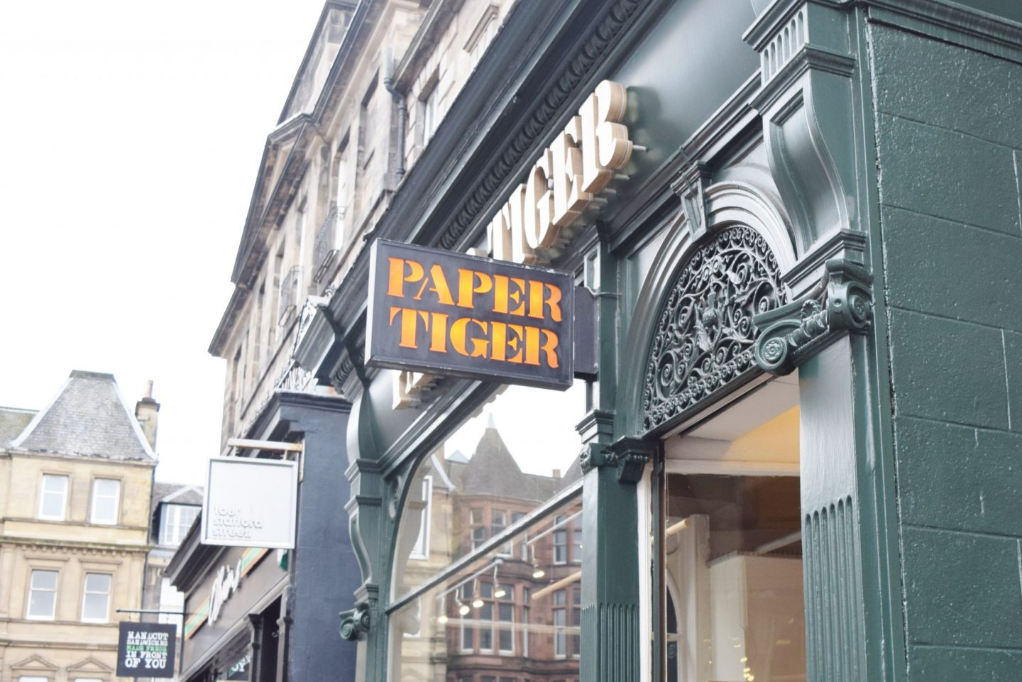 paper tiger edinburgh