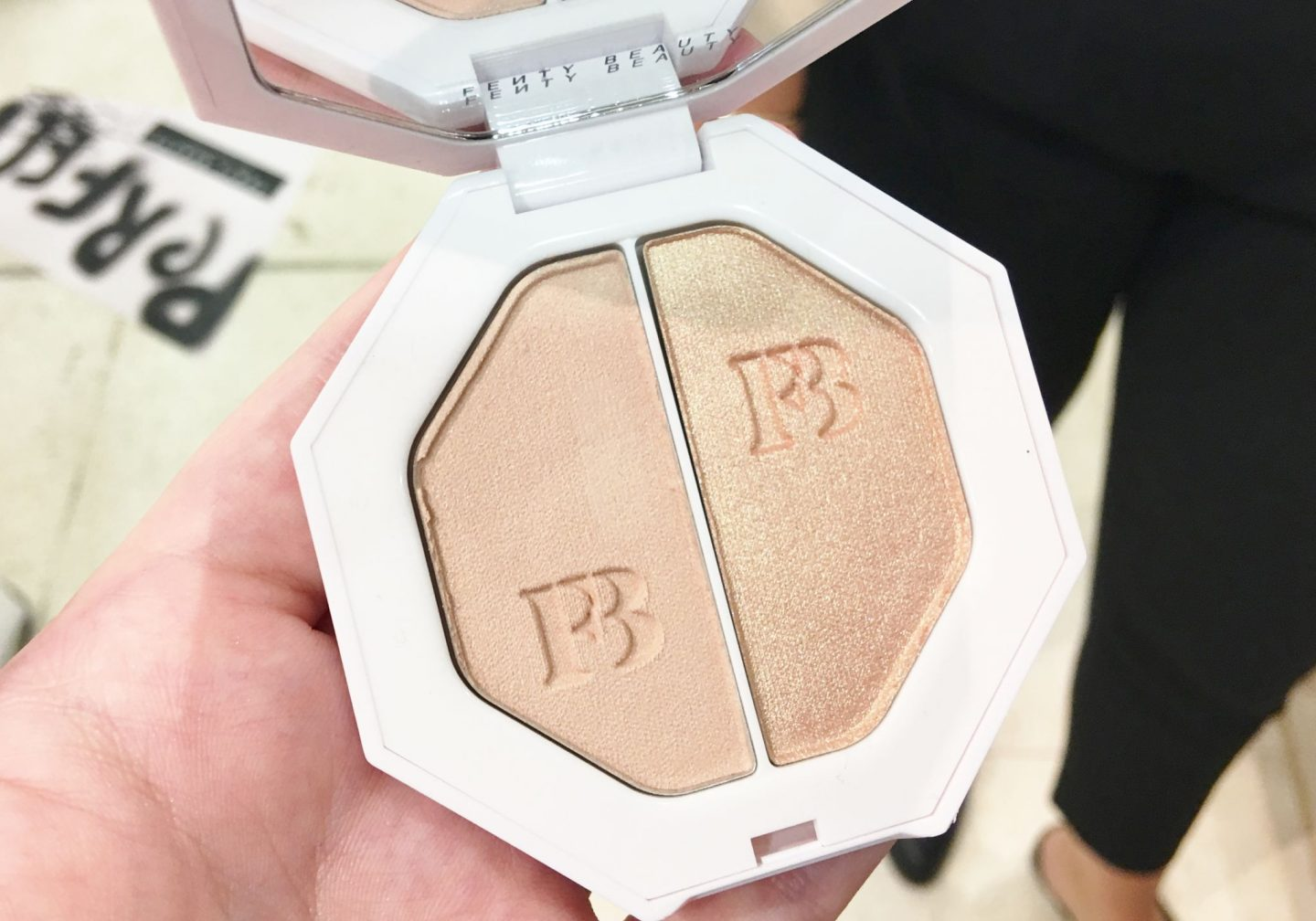 Fenty Beauty Killawatt Freestyle Highlighter Duo in Mean Mny Hustle Bby