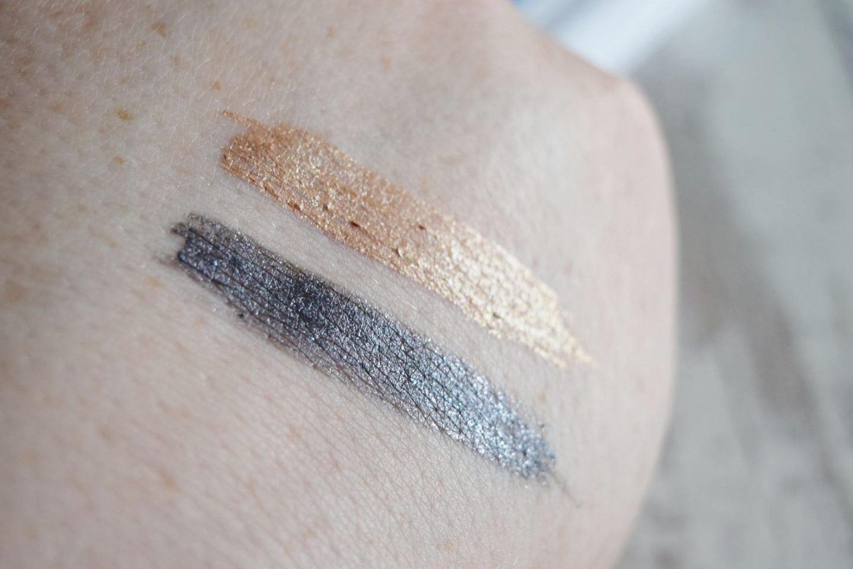 Kiko Fall 2.0 eyeliner liquid swatches