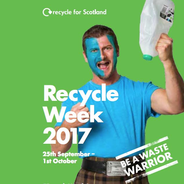 recycle week 2017 scotland