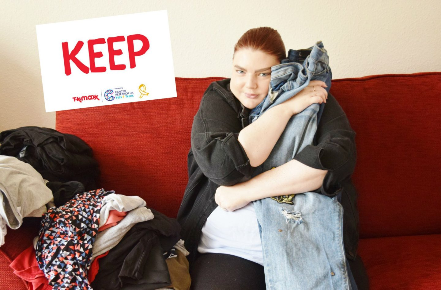 tk maxx give up clothes for good laura pearson-smith