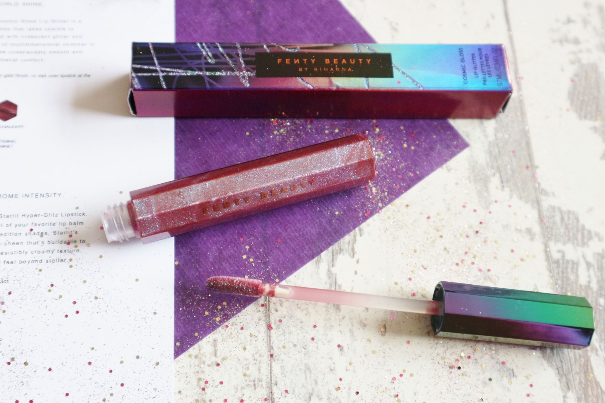 Fenty Beauty Galaxy Collection Cosmic Lip Glitter