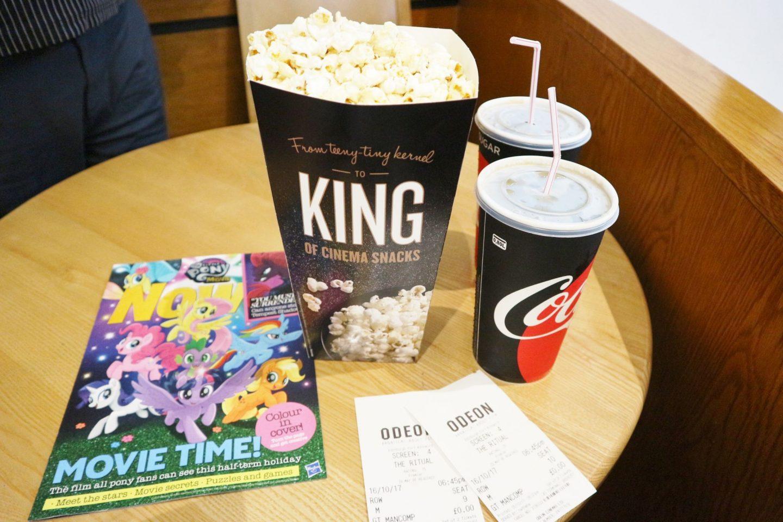 odeon cinema snacks