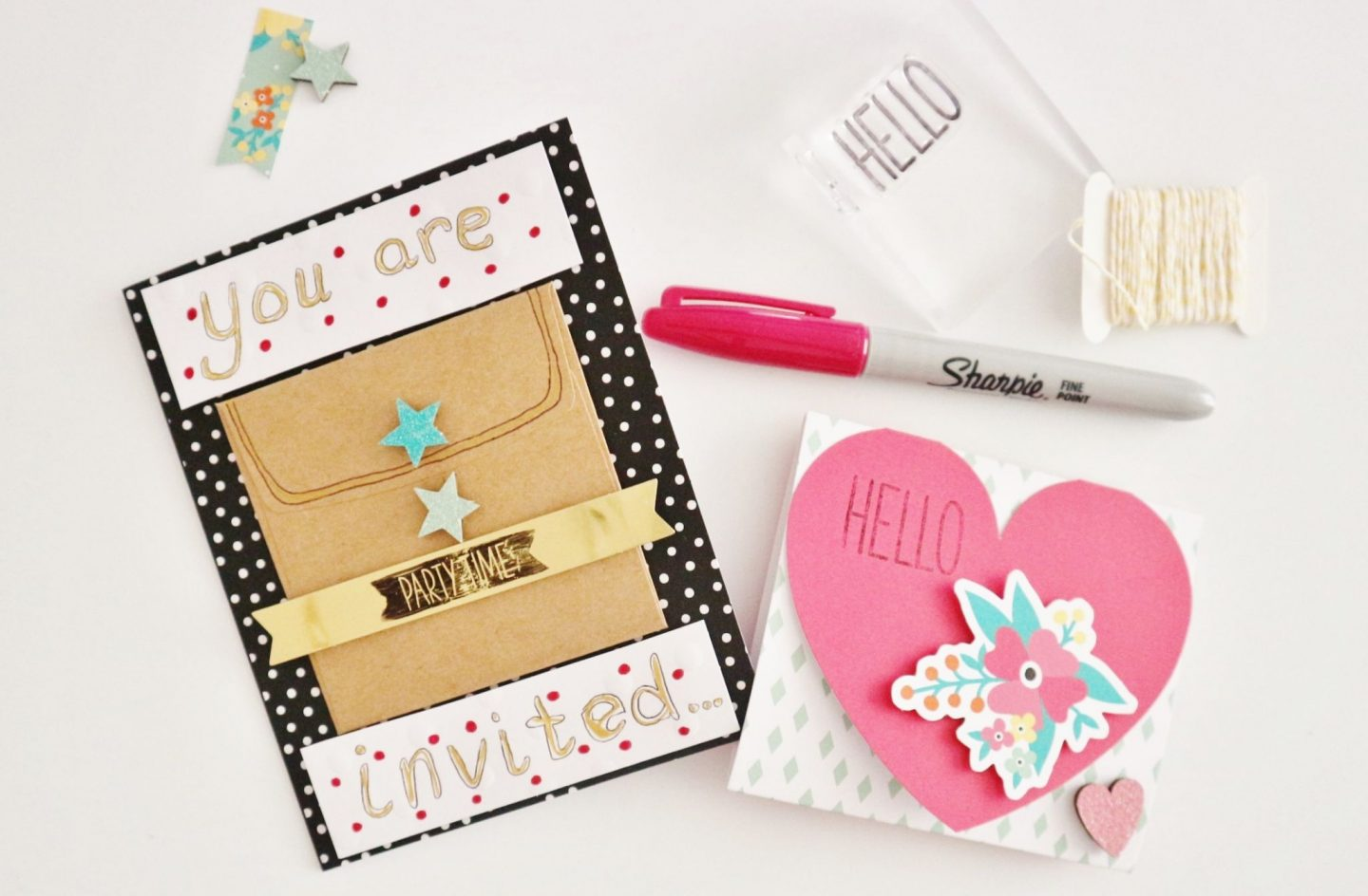 stampin up oh happy day card kit
