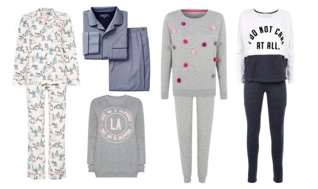 pyjama collage