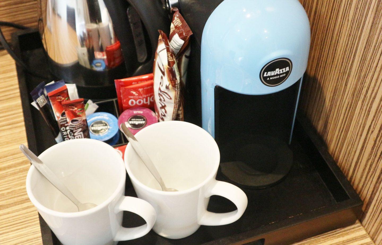 travelodge super room coffee machine