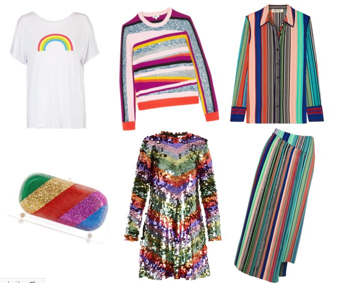 multi stripe fashion