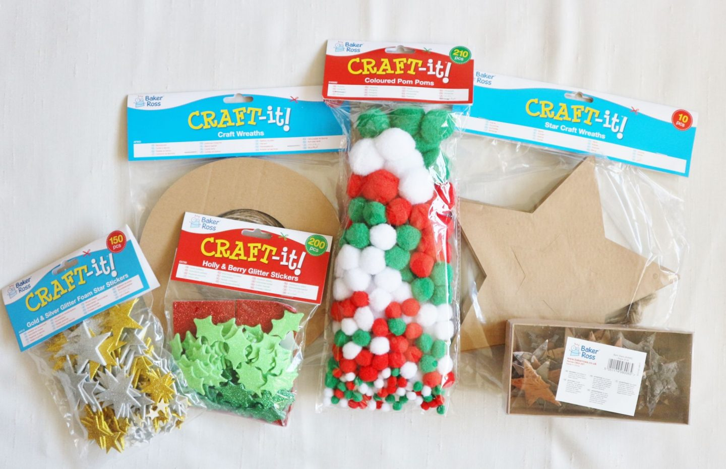 christmas craft supplies