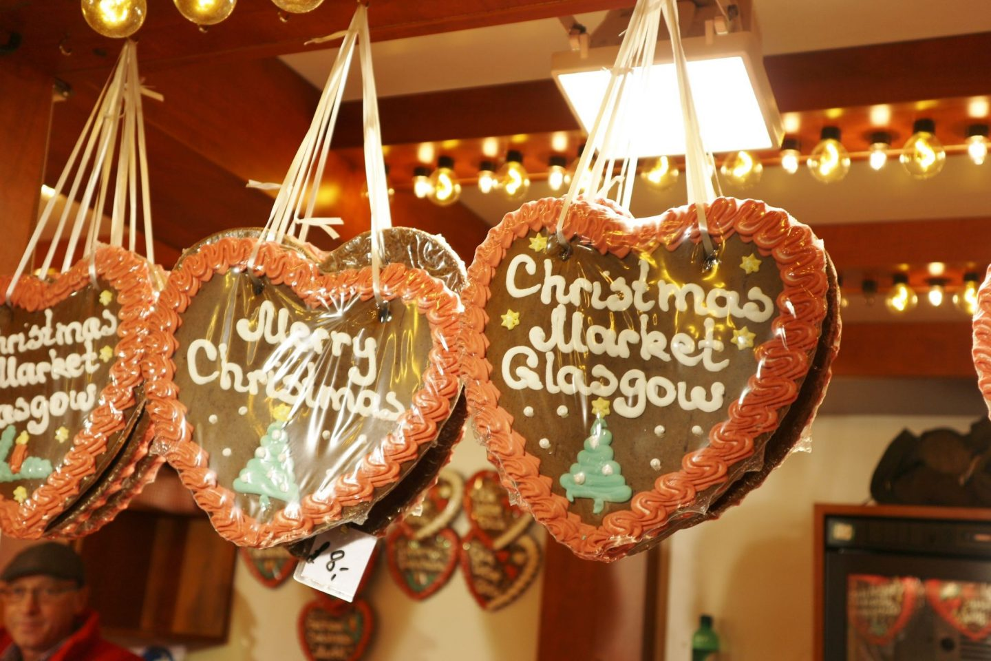 g;asgow christmas market cookie