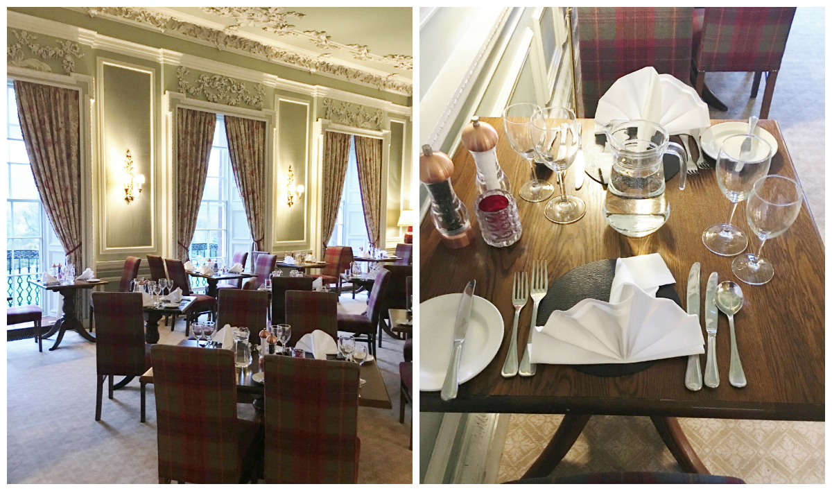 stobo castle dining room