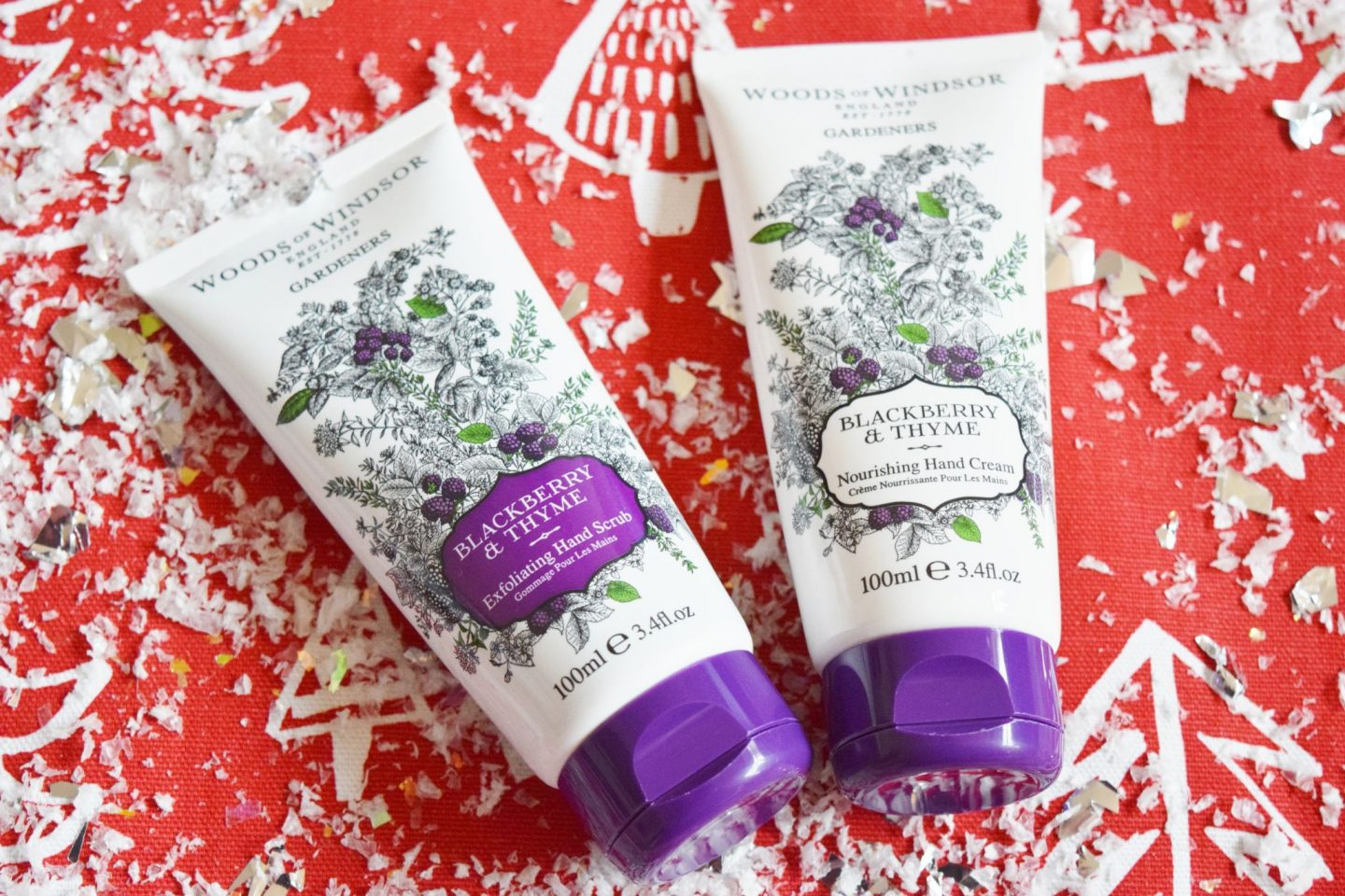 Wood of Windsor's Blackberry & Thyme Exfoliating Hand Scrub