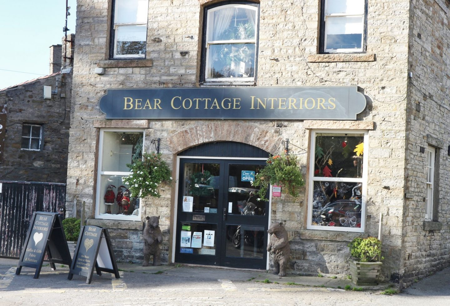 bear cottage interiors hawes
