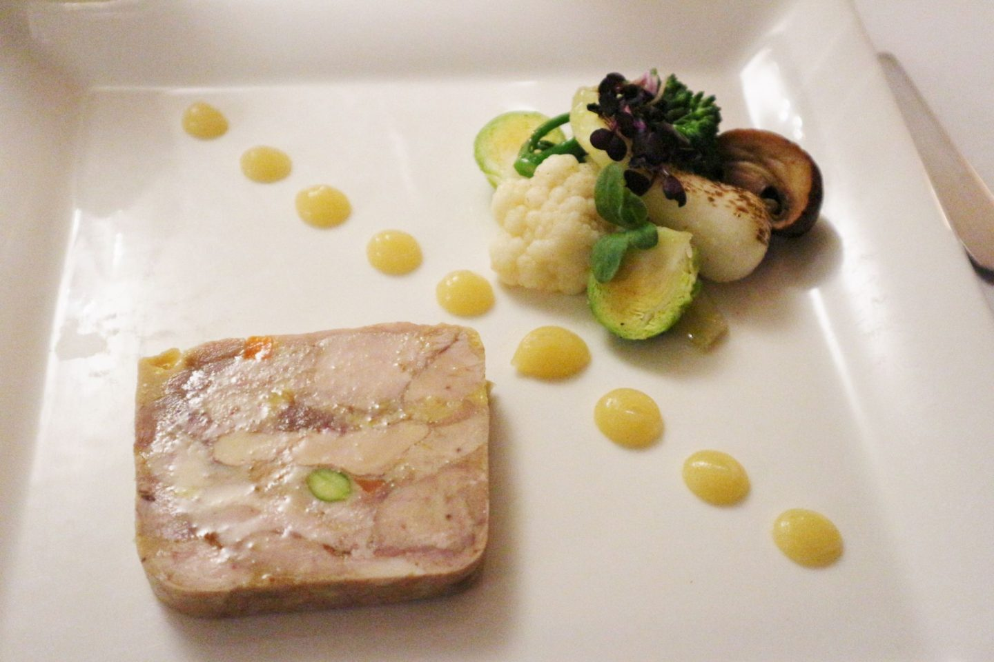 Pressed Pheasant and Foie Gras Terrine