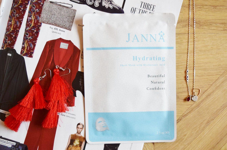 Janna Hydrating Sheet Mask With Hyaluronic Acid