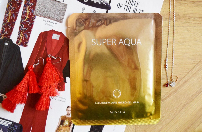 Missha Super Aqua Cell Renew Snail Hydro-Gel Mask