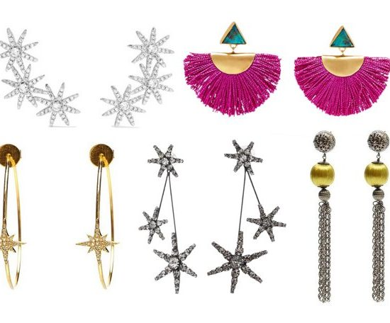 luxury statement earrings
