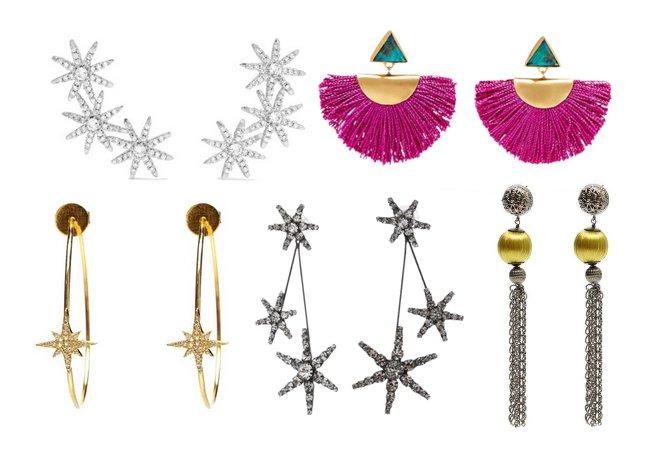 luxury statement earrings