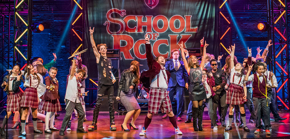 school of rock london west end