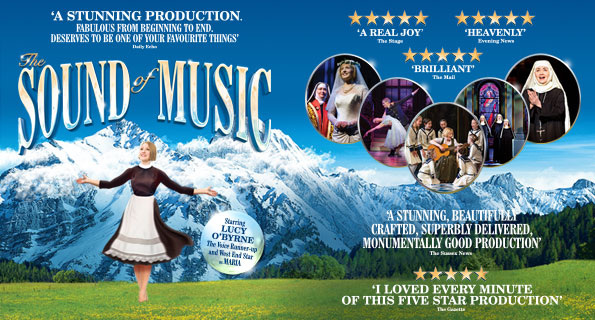 sound of music uk tour 2018 poster