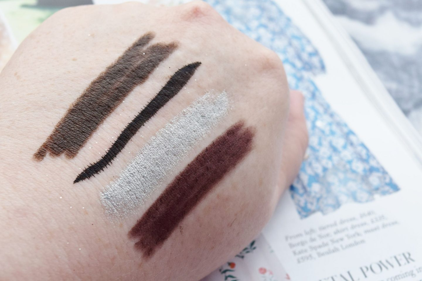 Laura Geller Line-n-Define Dual Dimension Eyeliner swatches