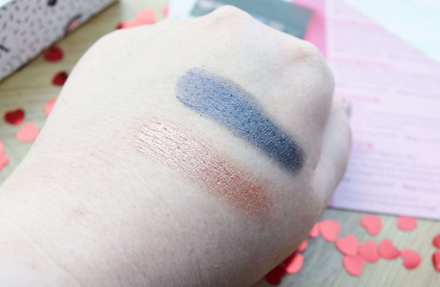 Sleek MakeUP Divine Eyeshadow Palette swatches