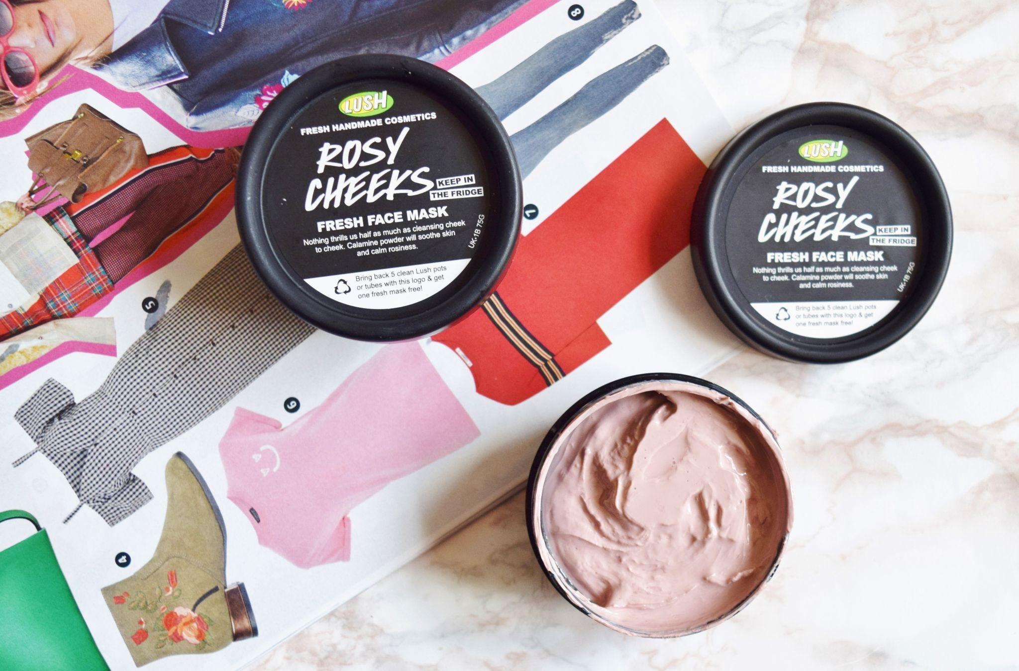 lush rosy cheeks fresh face mask