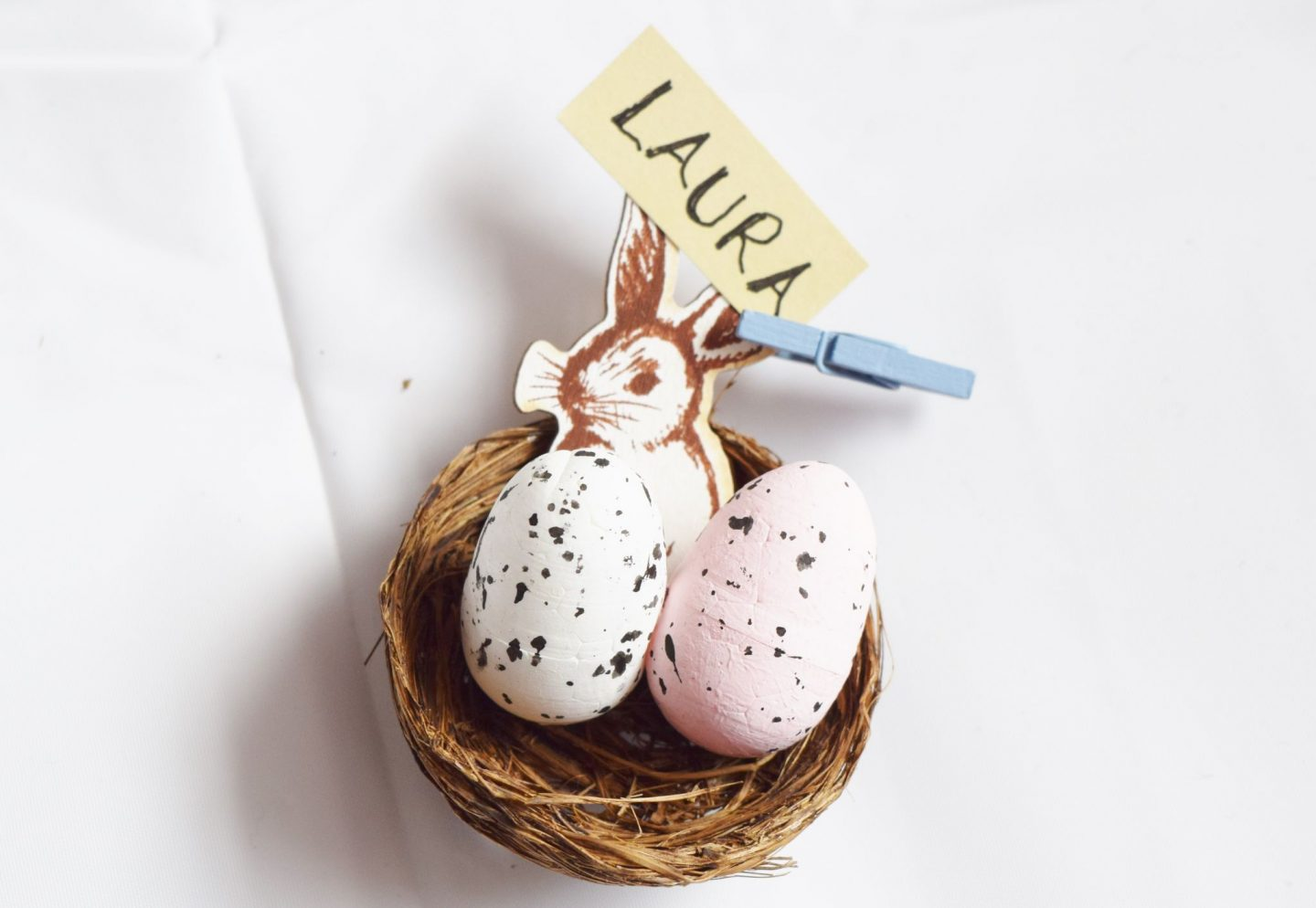 diy easter table place settings