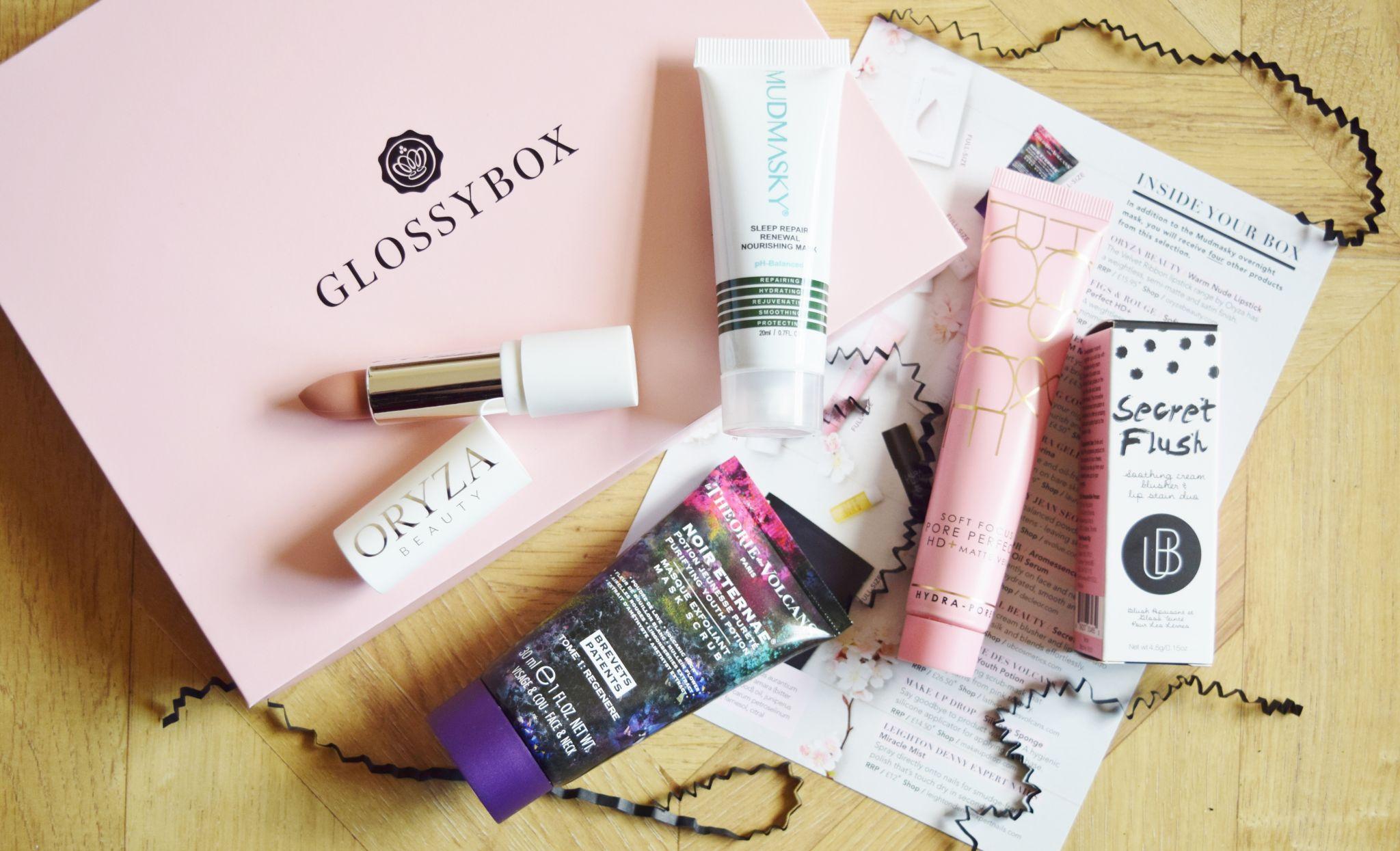 Glossybox March 2018 Box