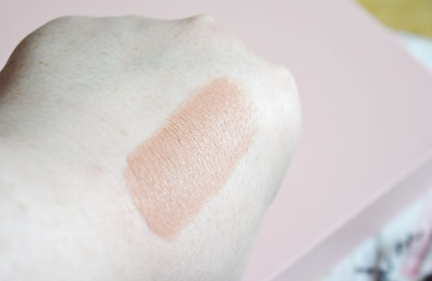 ryza Beauty Velvet Ribbon Lipstick in Warm Nude swatch