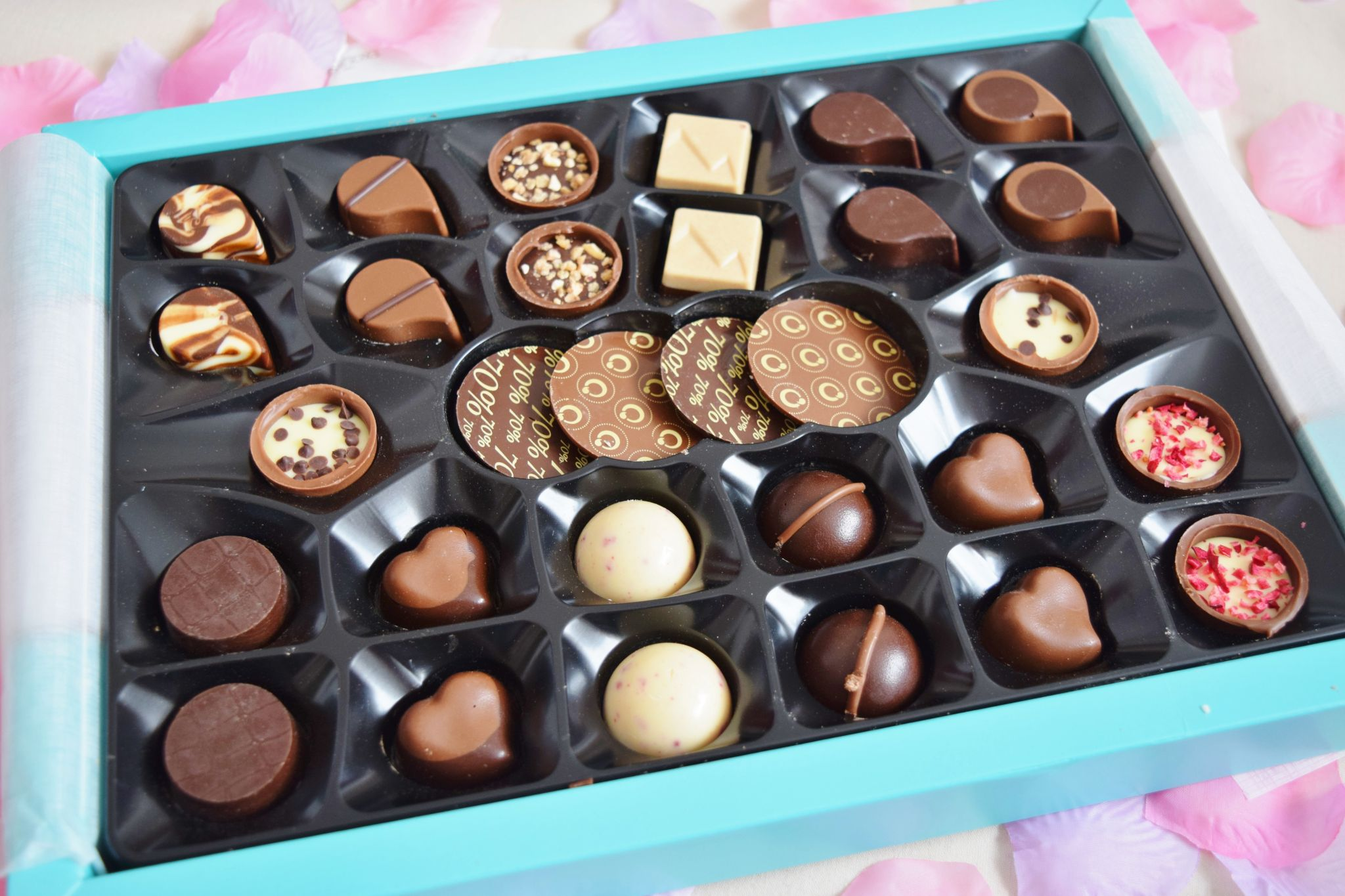 lily o'brien's the exquisite collection chocolates